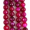 Pretty rare faceted agate beads RA0006