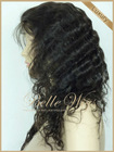 Premium quality human hair Indian remy lace wig
