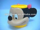 Lovely 3D vinyl cartoon mugs