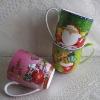 Fine bone china christmas coffee mug