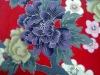 peinted flowers fabric/cotton fabric/table cloth/coating PVC/TPU/EVA