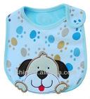 Customize white animal baby bib