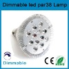12*3W dimmable led lighting par38