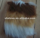 Fluffy boot covers fabrics