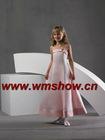 2011 Pink Little Queen Flower Girl Dress