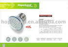 high quality 3W 250lm smd led bulb HR E27 60leds with CE and RoHs