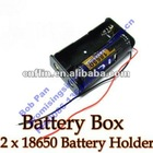 2x18650 Battery Holder Case With Wire Leads