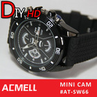 SW66 New Relaceable battery and flash memory watch camera