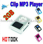 Fashionable Digital MP3 Player with Convenience Clip and High Quality LCD Screen