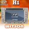 WITSON hyundai h1 dvd