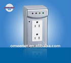 American 2 Outlets Freezer Refrigertor Power Protector Socket