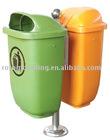 double plastic bin