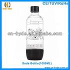 1Liter clear Plastic Soda Bottles