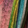 Different gradient color transfer paper printing lace fabric for women dress