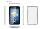 VIA8850 7 Inch Android Tablet Capacitive 5 Points Touch