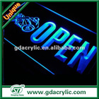 curve led display sign