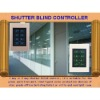 DC 12V Shutter Blind Touch Screen Remote Control Switch