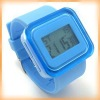 Newly silicon rubber watch