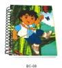 BC-08 hardcover notebook