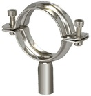 Sanitary pipe fittings stainless steel sanitary pipe holder