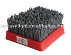 Granite, marble, travertine abrasive brush