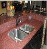 Indian Red granite worktop