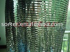 decorative shimmer plastic cloth