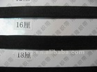Supply import 18MM,3/4'',3/4 inch,1.8CM black knitted elastic ribbon.(Pass REACH ROHS PAHS)