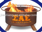 Sigma Alpha Epsilon patio BBQ fire pits