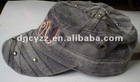 Unstructured Bio-Washed Military Cap