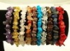 free shipping & Mixed GEMSTONE Chip Beaded Stretch BRACELETS