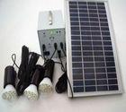 led solar lighting system for home