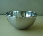 stainless steel salad bowl with FDA certificate