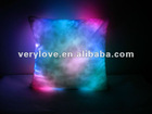 Square LED cushion stuffed/soft baby toys for christmas/halloween exhibition promotion and fashionable Gift (doll)