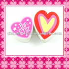3D Heart-shaped Eraser / Eraser for Children