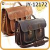2013 Vintage Brown Twin Pocket Executive Satchel
