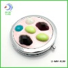 pocket makeup mirror with diamond