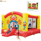 Super Clown Slide Bouncer-9014N Super Bouncer with Sun Roof and Front Cover