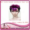 latest design synthetic hair wig