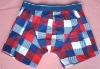 Cotton Men's Underwear With Mixed Color Design