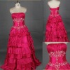 NEW!! Beore Long After Short Chiffon with Beading Prom Dresses 2012