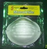 disposable dust mask shrinkage package