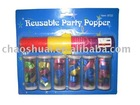 reusable party popper