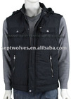 2012 Newest Fashional Outdoor Men Jacket With Removable Polar Fleece Lining