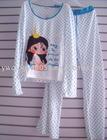 Pentagram Shy Girl Graphic Ladies Pyjamas
