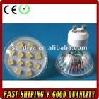 GU10 SMD LED spotlight,12pcs 5050 SMD LED,2W