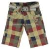 Short for Boys Spring/Summer 2012 with Free Belt!