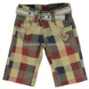 Short for Boys Spring/Summer 2012 with Free Belt!