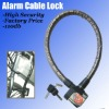 Cable Lock with Alarm