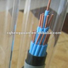 19*1.5 KVVR copper conductor PVC insulated PVC shealth control cable